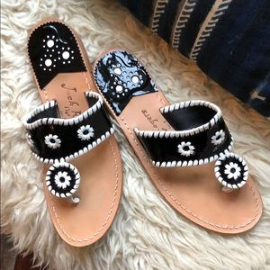 NWT Patent Jack Rogers Sandals
